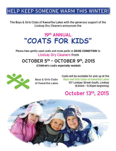 Coats For Kids 2015 Poster