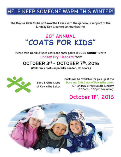 Coats For Kids 2016 Poster
